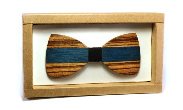 Nœud Papillon en bois bicolore