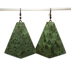 Bijoux Boucles d'Oreilles Vertes