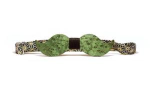 Nœud Papillon Moustache Vert