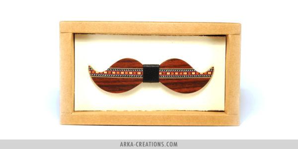 Nœud Papillon Moustache Unique